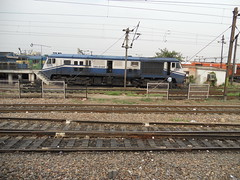 WDP3A 15510 PUSHPAK [TKD] NR (Abhinav (The Ludhiana Edition)) Tags: new trip delhi shed mandi nr tkd alco sabzi ndls tughlakabad wdp3a pushpak