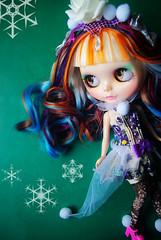 A-Dong's Custom Blythe doll No.62 *Snow Rose*