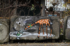graffiti (wojofoto) Tags: streetart holland amsterdam graffiti nederland netherland ndsm wolfgangjosten wojofoto