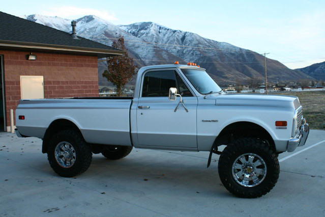 chevrolet monster truck utah 4x4 1972 lifted c10