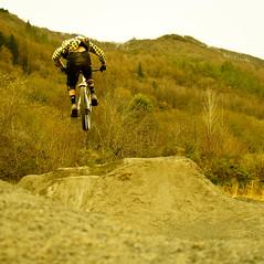 Dirt Jump Fun (Dan Jones4) Tags: mountain dan jones dj downhill aberystwyth dirt dh mtb norco aber dirtjumping abermtb specializedenduro