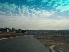 New home construction, in Clarksburg, Montgomery County, Maryland, USA. (sebypires) Tags: clarksburg md maryland usa moco montgomery county washington dc metro metropolitan area suburb suburban suburbia outer ring northern exurb exurban build builder home house houses construction building developer development real estate cooke cutter subdivision townhomes mcmansions townhome mcmansion neighborhood progress fast rapid growth rapidly growing booming boomtown boomburb suburbanization urbanization urbanized suburbanized major east coast boswash megalopolis dmv