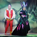Boabby (Jordan Young) and the Wicked Queen (Elaine C Smith. Photo by Donald Stewart