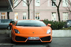Orange. (PaulK | Photography) Tags: orange green yellow 4 11 m 12 20 lc lamborghini gallardo 2012 560 201112 lp5604