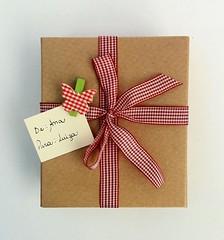 Presente divertido (Clube de Artesanato) Tags: natal artesanato presente fitas presentedenatal passoapasso comofazer artesmanuais cristinabottallo fitasprogresso clubedeartesanato