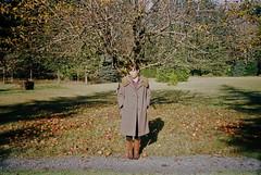 Bri in Vida (Christopher_JM) Tags: autumn portrait fall film girl oregon 35mm person kodak vida portra