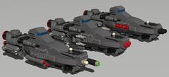 [4] (Sunder_59) Tags: ship lego space spaceship battleship frigate moc ldd