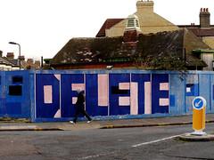 Delete (delete08) Tags: street urban streetart london graffiti delete londonist