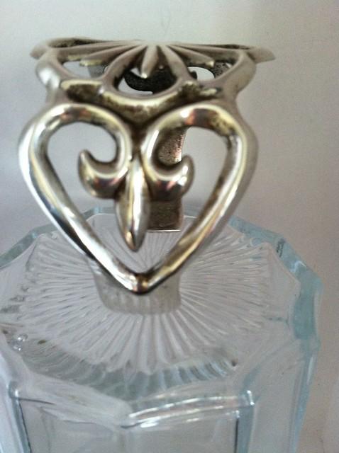 Sand Cast silver bracelet