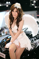 IG9C6117 (tony8888) Tags: car race thailand model pretty expo bangkok queen impact motor 2012 pretties
