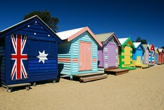 Brighton Beach, Melbourne (stephenk1977) Tags: colour beach nikon brighton australia melbourne victoria hut vic polarizer d60