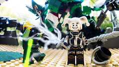 Week 49 (chrisofpie) Tags: chris project pie toy toys outdoors dragon lego jester lol liam 49 legos hero knight brave heroes minifig weeks mime 52 greendragon minifigure righteous minifigures 52weeks legodragon stunningphotography legohero whitejester dragonwizard chrisofpie 52weeksofliamthemime righteoussword kazahm