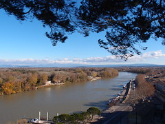Rock of the Doms @ Avignon (*_*) Tags: city pope france rock europe view south medieval paca provence avignon rocher sud doms vaucluse rhone