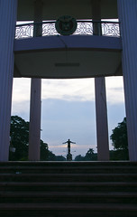 UP Walkabout (riacale) Tags: city sculpture black art up statue hall university philippines diliman oblation quezon