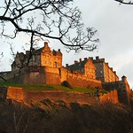 Edinburgh Castle in the Evening Sun