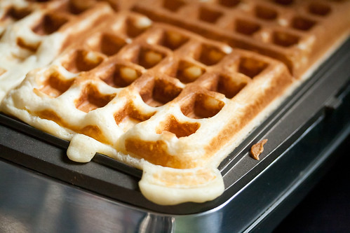 Egg Nog Waffles by Isabelle @ Crumb, on Flickr
