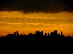 Good morning Rotterdam! (bogers) Tags: sunset sun skyline sunrise rotterdam denhaag zon bogers bkk oranje 20121212 portfoliobasbogers