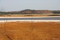 Paisaje Minero / Mining Landscape (Roco Manjn) Tags: orange silver minas huelva plata copper sulphur naranja cobre oro goldsand gossan azufre explotacin minasriotinto