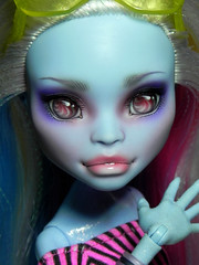 Monster High Abbey repaint by Nesladkaya_N (Nesladkaya_N) Tags: monster high ooak repaint