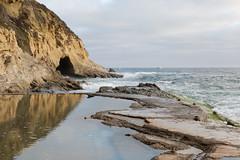 B03A3039_DxO (Estebahn De Peschruse) Tags: ocean california sunset sea beach sand surf pacific surfing cave lagunabeach 1000stepsbeach canon5dmarkiii thousandstepsbeach