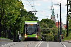 Solaris Tramino S111o #3012 MPK Olsztyn (3x105Na) Tags: tram poland polska polen solaris strassenbahn olsztyn mpk tramwaj 3012 mpkolsztyn tramino s111o