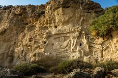Graffiti (Askjell's Photo) Tags: aegeansea agathibeach goldensands graffiti greece hellas mediterraneansea rhodes rhodos rodos stagatha