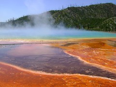 Grand Prismatic Spring @ Yellowstone National Park (Hlne_D) Tags: hlned usa wyoming wy montana mt yellowstonenationalpark yellowstonenp yellowstone nationalpark np parc park parcnational spring grandprismaticspring midwaygeyserbasin source
