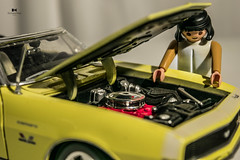 Da 25- Juguete (Olimpia_Real) Tags: 365 proyect proyecto toy toys juguete playmobil muscle car camaro nikon d3300 challenge practica practice