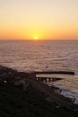 Sunset over Sennen, Cornwall (harry.blytheallen) Tags: august summer evening gb uk england cornwall sea jetty lifeboatstation cove sennen sunset