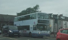 Port Talbot to Mumbles and back (Woolfie Hills) Tags: first cymru volvo decker w807 eow swansea