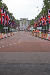 Ride London 2016 (gary8345) Tags: 2016 london londonist ridelondon themall snapseed flag flags buckinghampalace