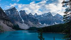 Panorama 6 (Adrian De Lisle) Tags: lakemoraine banffnationalpark banff mountains clouds panorama