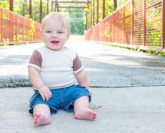Neil is Three (beckyhargis) Tags: 2016 bridge columbiamo familysession hargis neil toddler