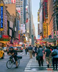42nd Street (Marc Bloostein) Tags: newyorkcity chryslerbuilding 42ndstreet newyork timessquare summer goldenhour