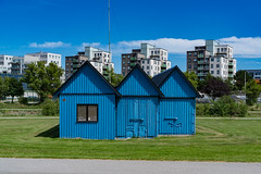 Blue Huts, Malmö / Sweden (_striki_) Tags: sweden scandinavia malmö europe