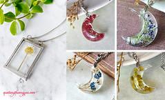 Lm dy chuyn mt hoa kh cc cht (quatangthuongyeu) Tags: lm qu handmade gift