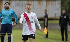 Bankies recent addition Peter McGill (Stevie Doogan) Tags: clydebank glasgow perthshire exsel group sectional league cup wednesday 10th august 2016 holm park