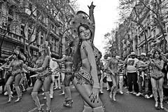 Batuque beleza (Wal CanonEOS) Tags: beleza batuquebeleza comparsa samba bateriabatuquebeleza bateria bailarina mulher woman mujer femme girl femenina lady dancer garota elsamba trajesdecomparsa trajes argentina argentinabsas buenosaires bsas caba capitalfederal ciudadautonoma ciudaddebuenosaires monserrat avdemayo dia day canon eos rebelt3 canoneosrebelt3 blackandwhite blancoynegro byn bw blanco y negro monocromatico monocromatic monocromo hdr hdrbw street streets streetsbw strange calle callejeando calles candid candidstreet hdrcandid airelibre alairelibre bonita belleza bella bailarinas batuque retrato retratobyn retratos portrait portraitbw portraits posando