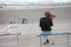 (osanpo_traveller) Tags: japan yokohama oosanbashi fujifilm x100t tclx100