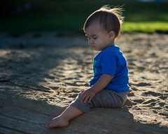Pensive (westcoastcaptures) Tags: minolta8020028apohsg sonya99 candid child happiness joy beach backlit