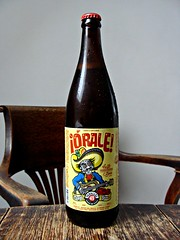 P49 Orale! Tequila Gose (knightbefore_99) Tags: beer cerveza pivo local craft hops malt bottle bc northwest canada orale tequila gose parallel49 anniversary fourth