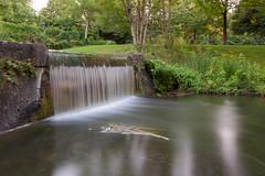Waterfall - Westpark, Munich (mistermo) Tags: munich münchen nature natur wasser city munichcity longexposure lanzeitbelichtung ndfilter westpark photography art canon canoneos50d