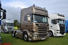 Scania R580 'Ball Trucking' reg BTL 9sw5B (erfmike51) Tags: scaniar580 artic truck lorry v8 swedefest2016 balltrucking