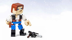 Han Solo with DL-44 (-derjoe-) Tags: derjoe der joe joachim klang lego classic space tips for kids cool projects your bricks tipps heel verlag distributor han solo dl44 block head version 2 star wars blaster smuggler