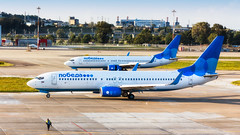 Pobeda (denlazarev) Tags: aerspot2016 pobeda boeing b737 boeing737800 vqbtj vqbts landing taxiing baselaero caucasus russia runway clouds canon air aviation airline airplane airport aircraft airliner sky spotting fly photo plane lightroom    outdoor sochi adler aer urss mountains