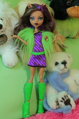 The final old style Clawdeen (Annette29aag) Tags: monster high doll clawdeen