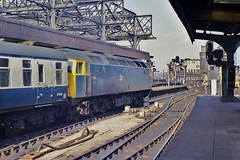 1544 at Newcastle (Jeff Mckever) Tags: 1544 newcastle central station class 47 brush type 4 1970s diesel loco