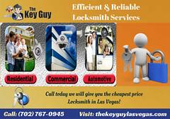 Efficient & Reliable Locksmith Services (thekeyguylocksmith) Tags: carlocksmith locksmith mobilelocksmith summerlin northlasvegas nv