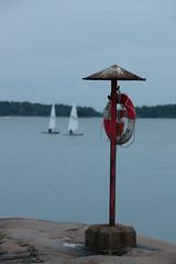 Mellsten (Antti Tassberg) Tags: 135mm autumn boat dinghy fall haukilahti jolla laser lens meri prime purjehdus sailing sea syksy vene espoo
