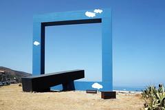 . (Mario M.) Tags: villamargi reitanome sicily beach sea summer tanofesta finestrasulmare monumentoadunpoetamorto landart